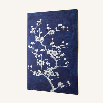 Flower Wow A4 dokumentum mappa -Cearmic Blue