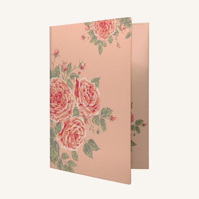Flower Wow Boríték irattartó -Tea Rose