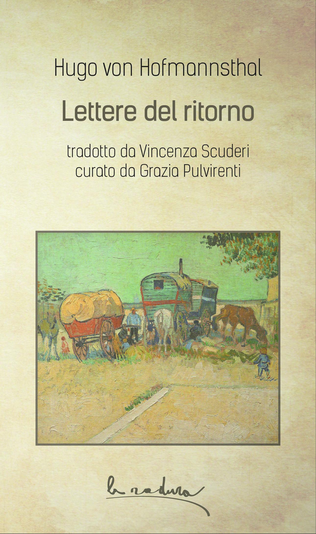 Hugo von Hofmannsthal - Lettere del ritorno 9788898119523