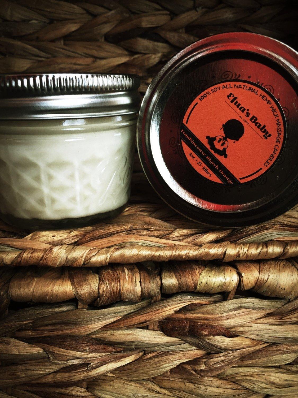 4oz Frankincense/Myrrh/Orange Soy Candle