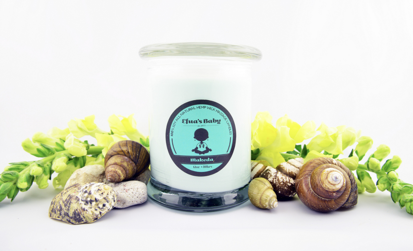 Makeda 8oz QUEEN Series Soy Candle