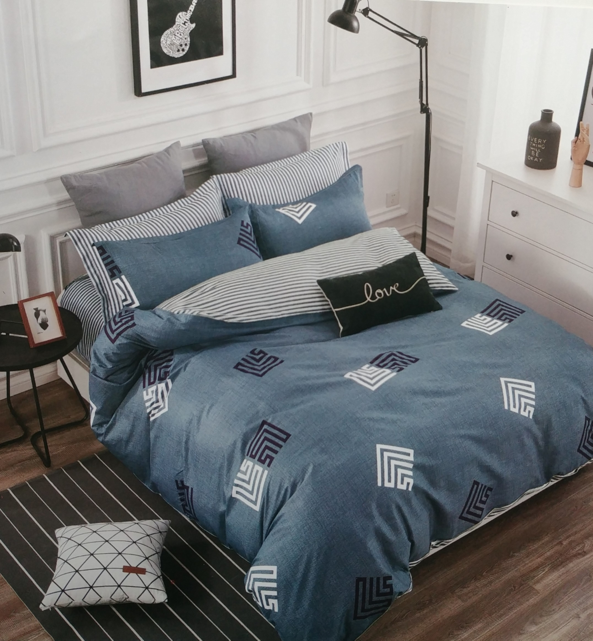 BICKFORD REVERSIBLE (6 PIECE) BEDDING SETS BF842