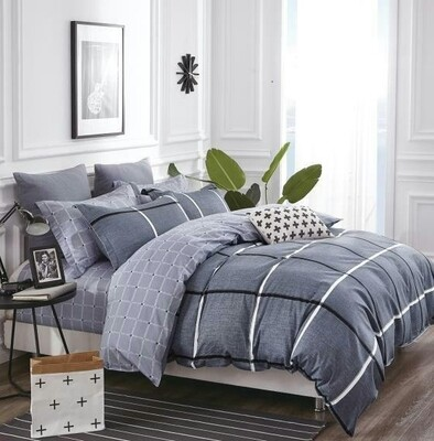 Caldera Blue Bedding Set