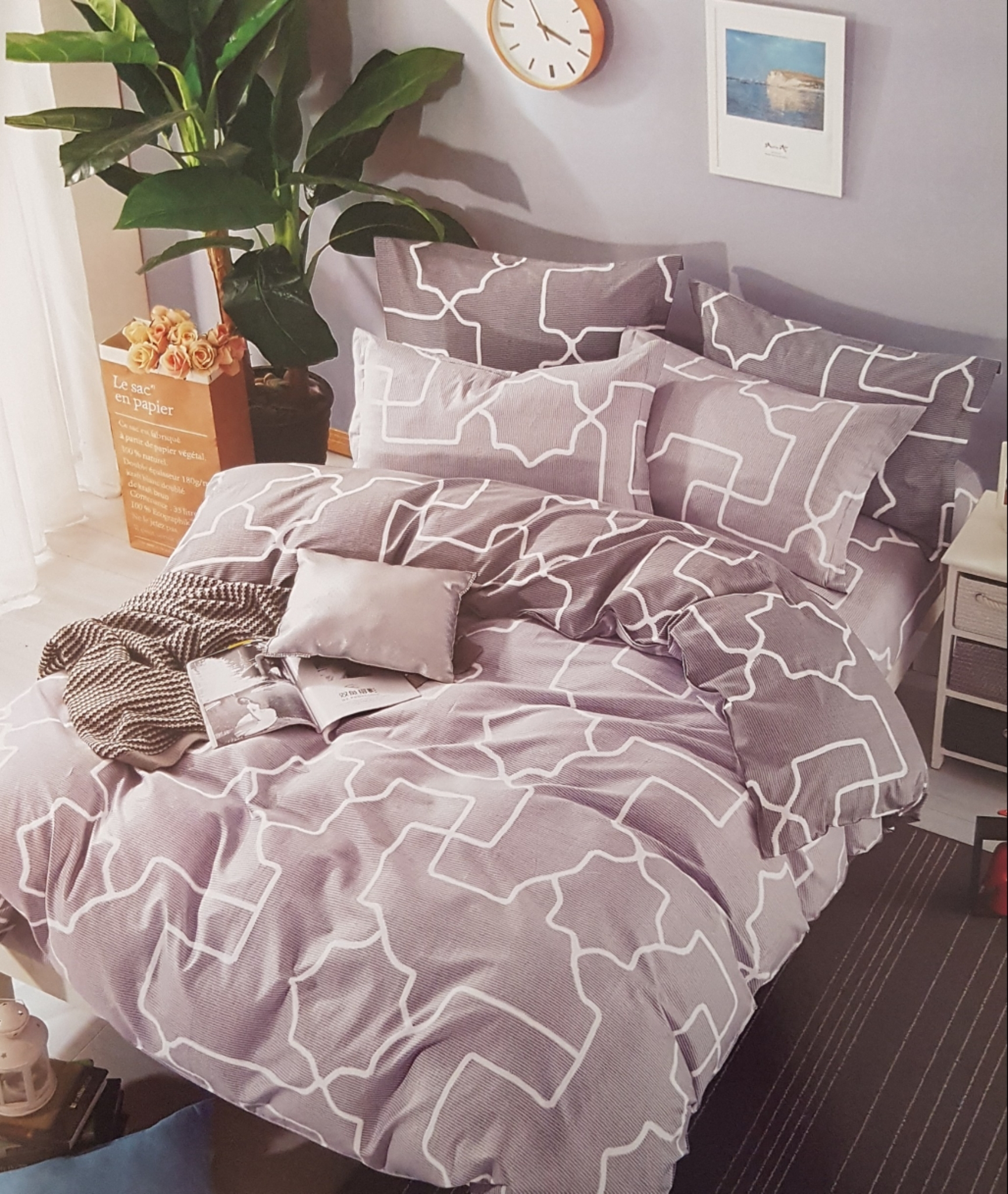 Lewis Home Avenue Bedding Set LHA560