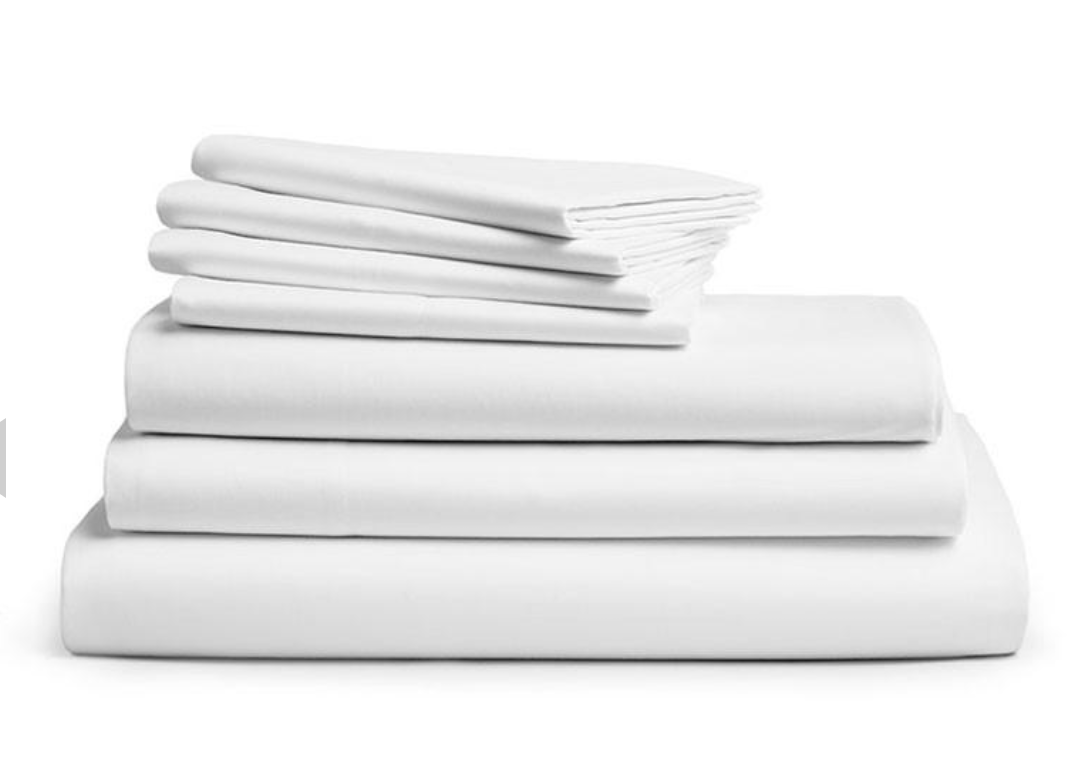 DeLuxe White Bedsheet Set SCL846
