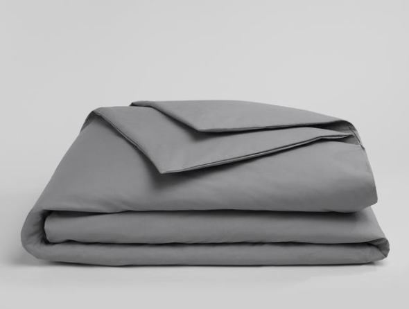 Solid Smoke Duvet Cover SSD504