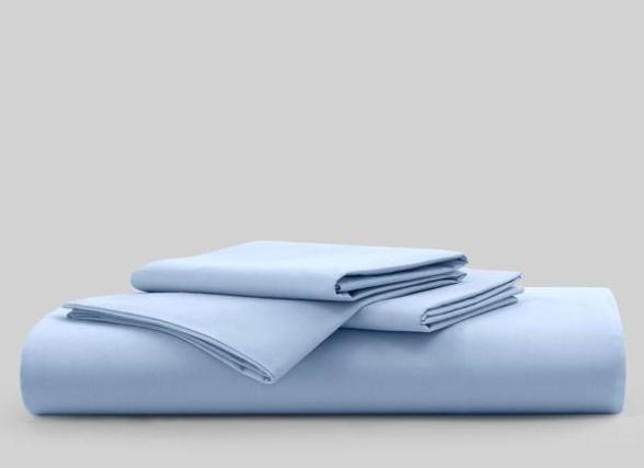 sky blue sheet