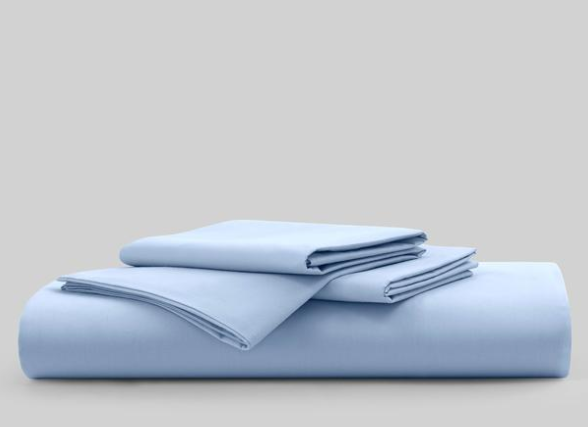 sky blue sheet set