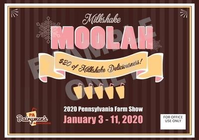 Milkshake Gift Certificate