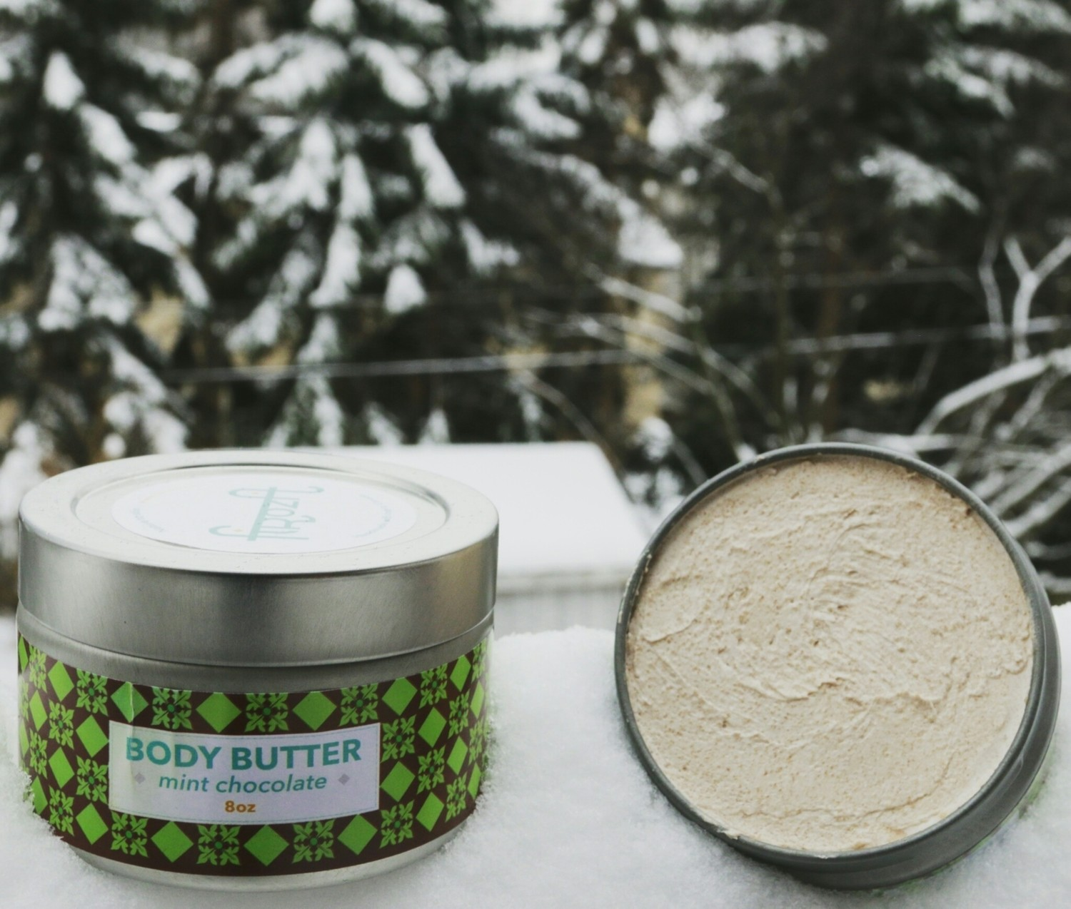 Mint-Chocolate Body Butter