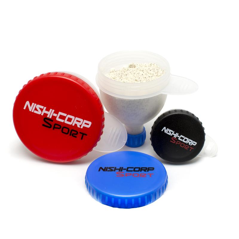 NISHI-CORP ファンネル (プロテインサプリメント携帯容器)