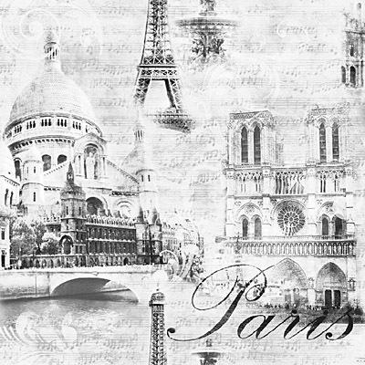 Франция-фон. Артикул: 586 246 ХХ. Франция. Артикул: 586 242 ХХ.  Моющиеся обои. Виниловые на бумажной основе.