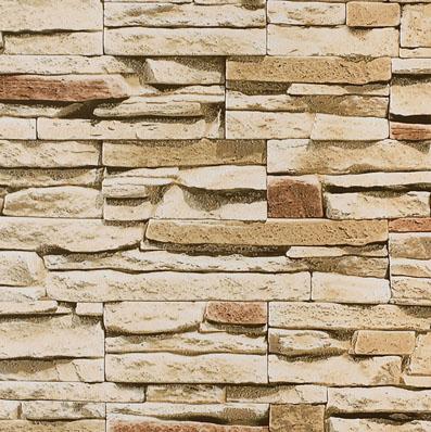 Камни.  Моющиеся обои для стен в прихожую. Виниловые на бумажной основе. Варианты цветов: бежевый, серый, бордовый.