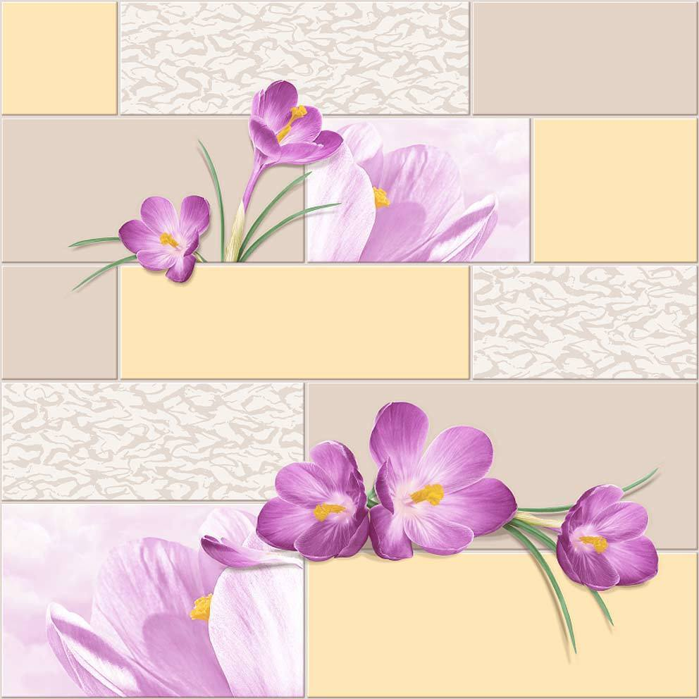 Первоцвет.  Виниловые профильные химтиснение 0,53x10м.