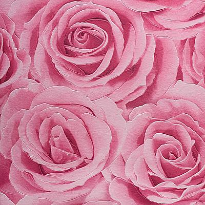 Розы. Моющиеся обои. Виниловые на бумажной основе. Варианты цветов: бежевый, розовый.