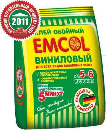 Клей для виниловых обоев Emcol