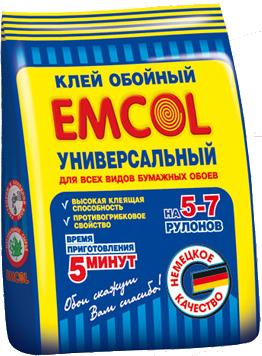 Обойный клей универсальный  Emcol