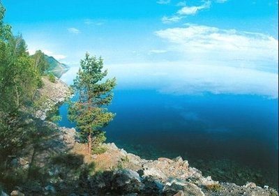 Байкал.  Фотообои, природа.  Размер: 194х136 см.