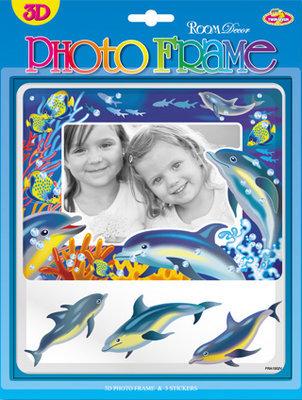 FRA1502V. Фоторамка для детских фотографий.  Размер фотографии: 9х13, 10х15. Количество: 4 элемента. Материал: ПВХ. 3D.