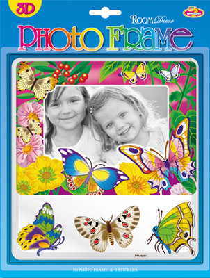 FRA1503V. Детские рамки для фото. Размер фотографий: 9х13, 10х15. Количество: 4 элемента. Материал: ПВХ. 3D.