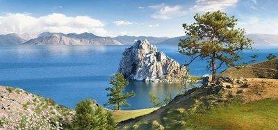 Легенды Байкала. Красивые фотообои на стену. Размер: 291х136 см.