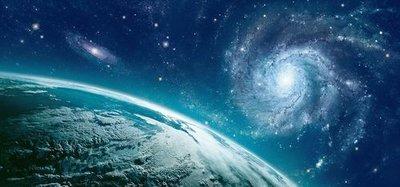 Бесконечность. Фотообои на потолок, космос. Размер: 291х136 см.