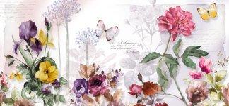 Флора. Фотообои, цветы. Размер: 291х136 см.
