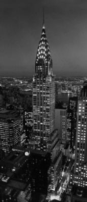 Артикул 521.Город. Дверные фотообои ночного города. Размер: 86х200 см.