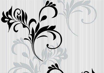 Дамаск. Настенные обои для гостиной . Виниловые на флизелиновой основе. Варианты цветов: сиреневый, бежевый, черно-белый.