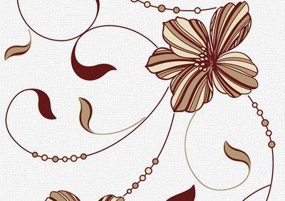 Вальс. Обои для стен. Виниловые на бумажной основе. Варианты цветов: черный, коричневый, бордовый, сиреневый.