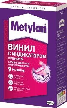 """Клей обойный """"Metylan Винил Премиум""""с индикатором."""