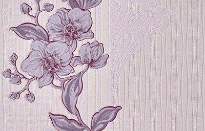 Орхидея. Орхидея - фон. Обои виниловые на бумажной основе. Размер: 0,53*10,05 м.