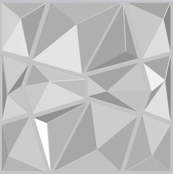 Арт. Diamond. Декоративные панели с 3d эффектом. Размер: 500X500.