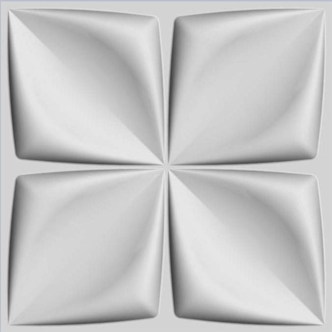 Арт. Aryl. Стеновые рельефные 3d панели . Размер: 500X500.