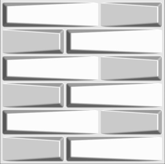 Арт. Feelings. Рельефные 3d панели для стен. Размер: 500X500.