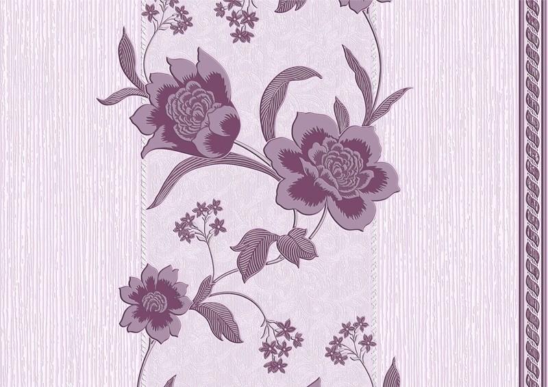 Арт. 1075Х. Марго. Обои настенные. Виниловые на бумажной основе. Варианты цветов: черно-белый, зеленый, бордовый, шоколадный, персиковый, фиолетовый, голубой.