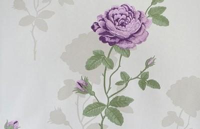 Марьяна роза. Артикул: Е1480Х.  Обои с розами для стен , на флизелиновой основе горячее тиснение.