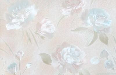 Пионы. Артикул: 1030Х. Обои стильные для спальни, горячее тиснение. Варианты цветов: розовый, голубой, сиреневый, желтый, бежевый, розово-голубой.
