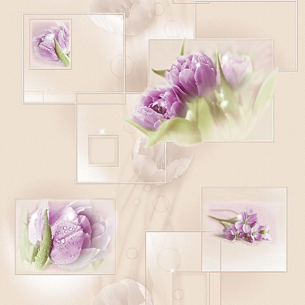 Элегия. Артикул: 850-XX. Модные обои для прихожей и других помещений. Виниловые профильные химтиснение. Размер: 0,53x10м. Варианты цветов: голубой,бежевый,сиреневый.