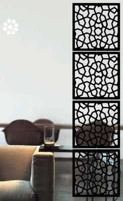 Арт. DECO 084. Декоративные отделочные панели  .  Размеры: 40х40  см. Количество: 4 элементов. Материал: ПВХ.