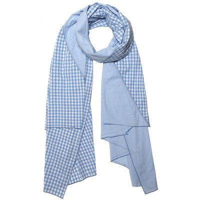 Donni Diagonal - Sky Gingham