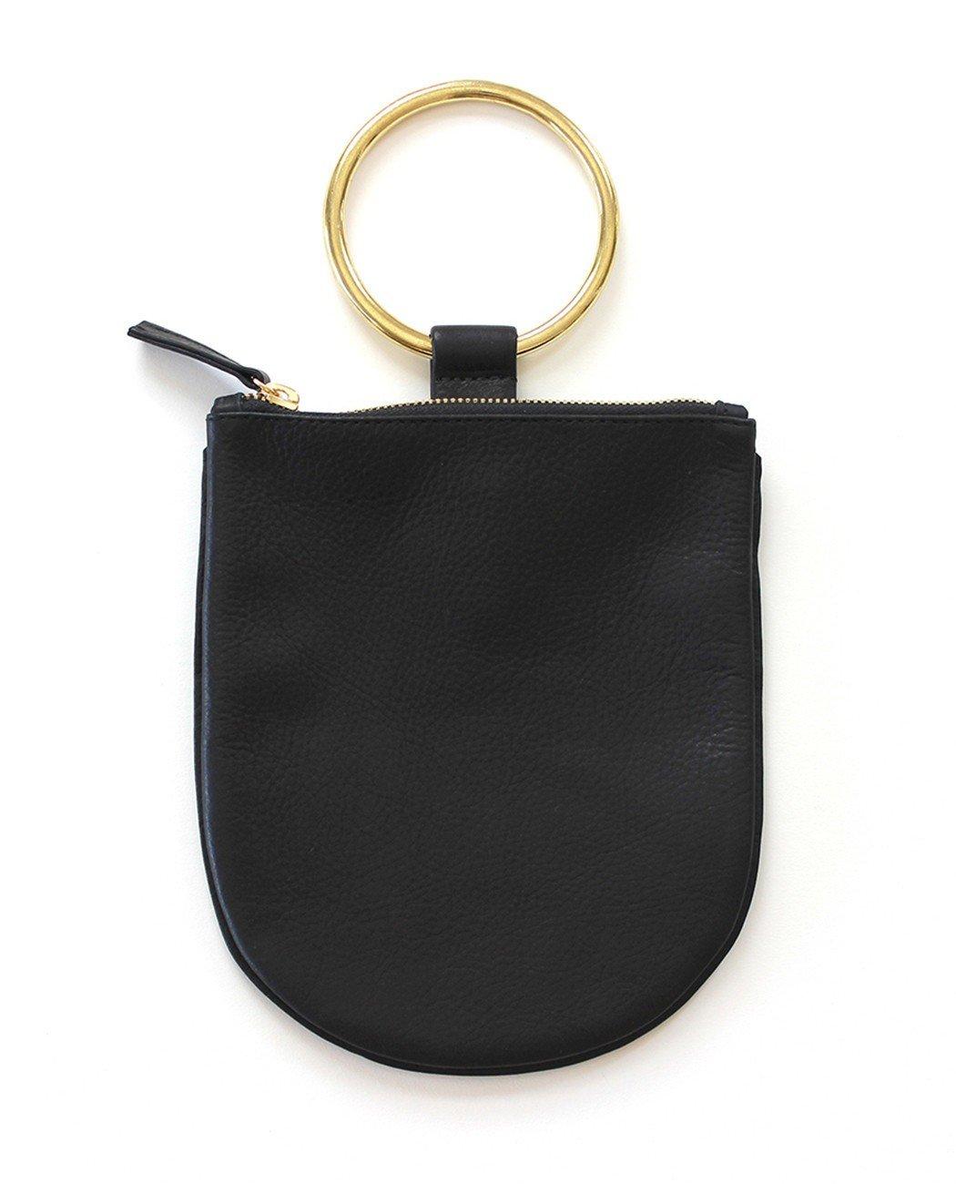 Black Ring Pouch Medium