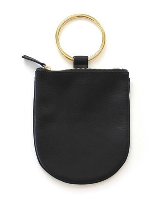 Black Ring Pouch Medium
