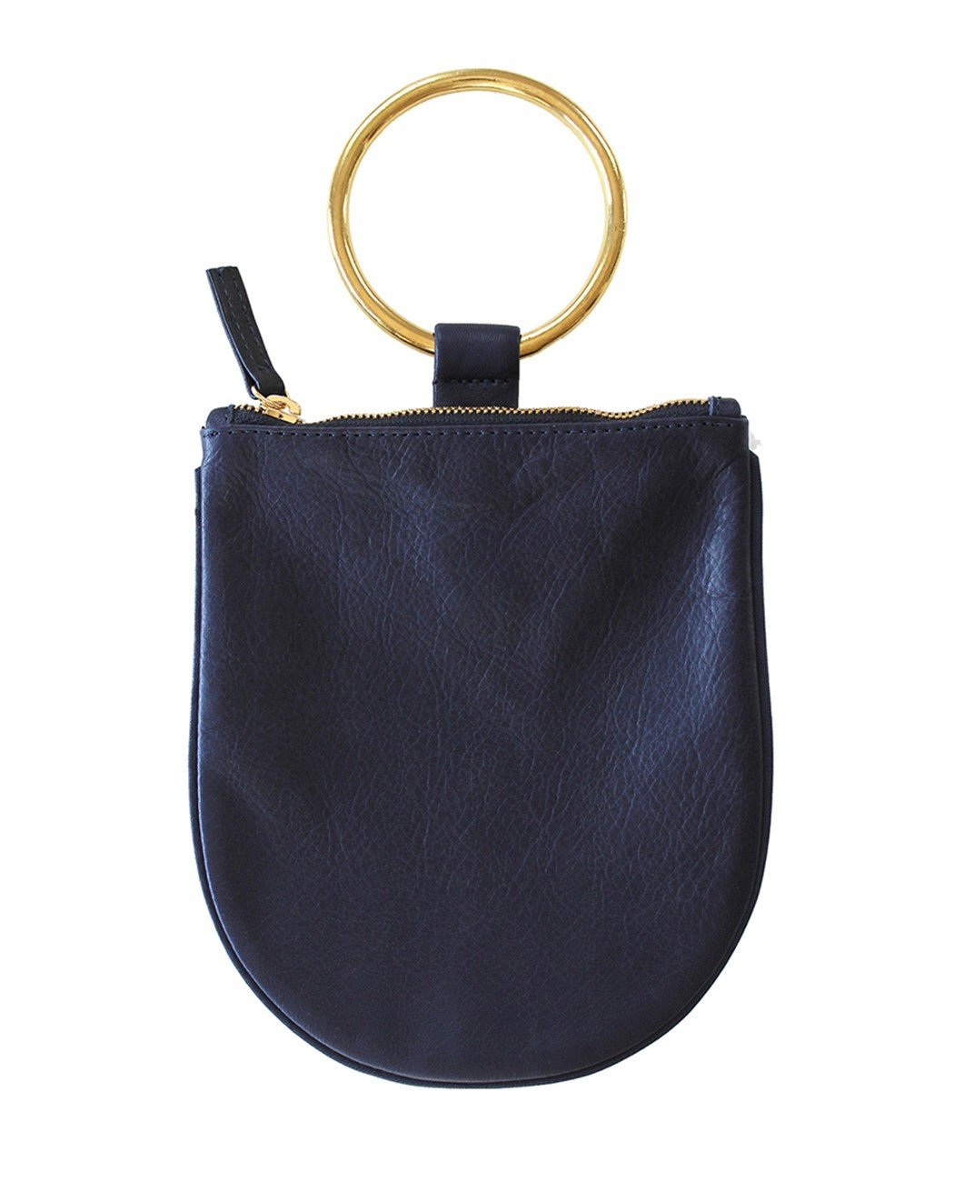 Navy Ring Pouch Medium