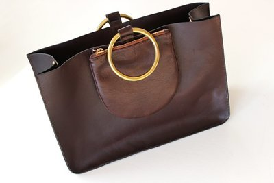 Chocolate Ring Tote