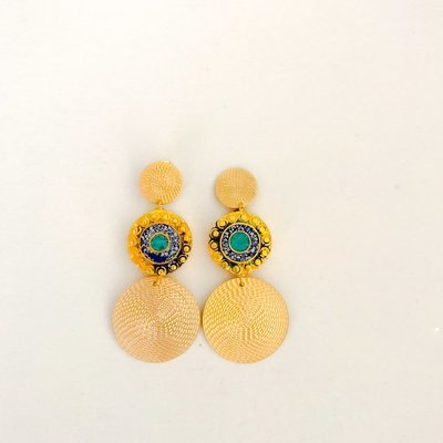 Nepalese Circle Earrings