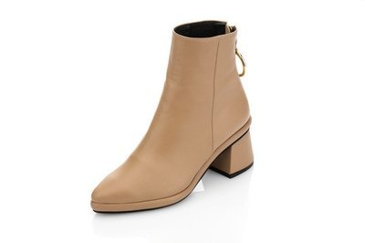 Ring Slim Boot Beige