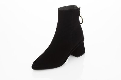 Ring Slim Boot Black Velvet