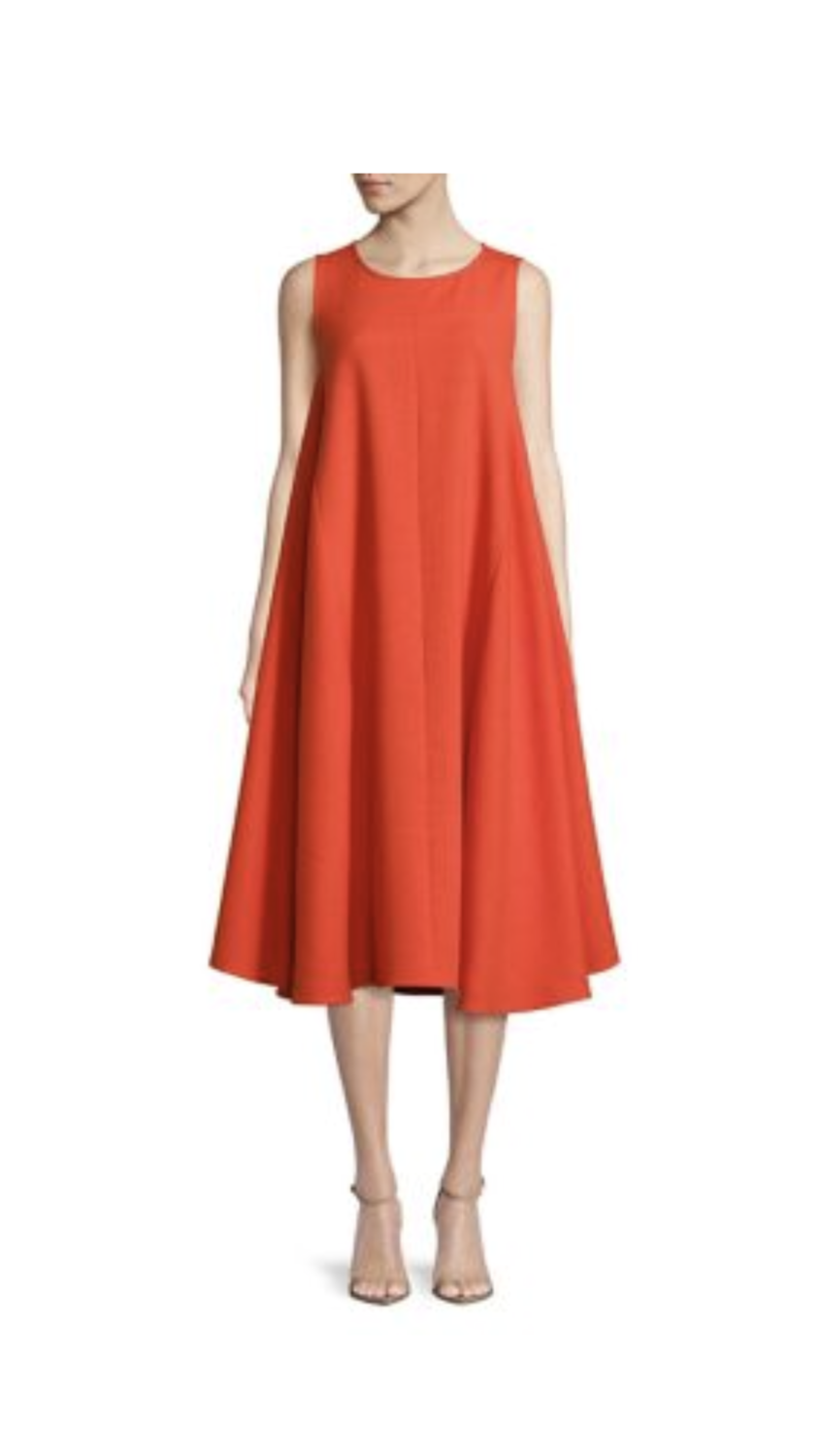 Sunday Brunch Trapeze Dress