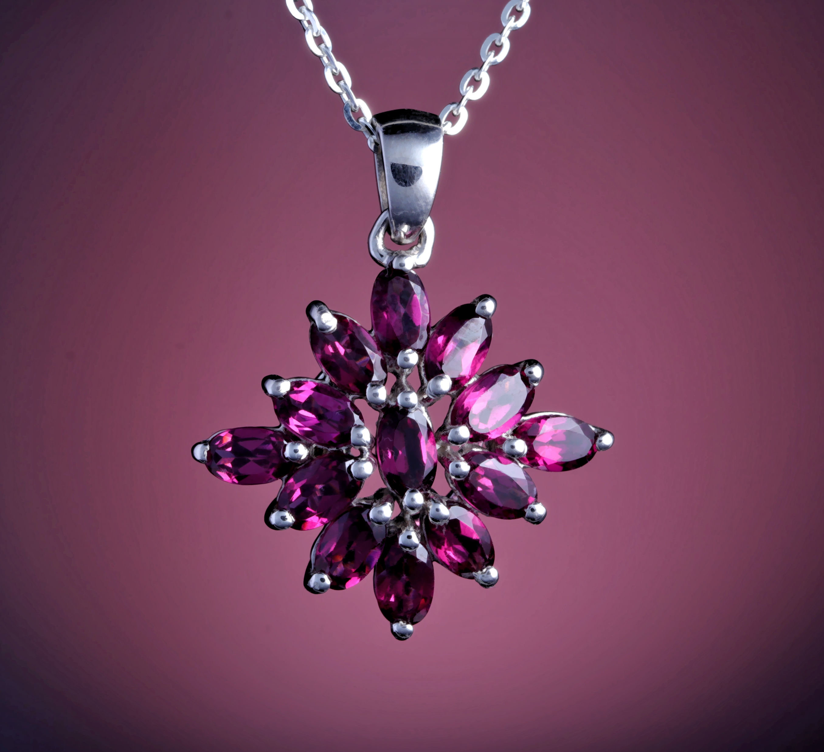 diamond listing gold chain garnet necklace il rhodolite fbko rose halo birthstone fullxfull and pendant january